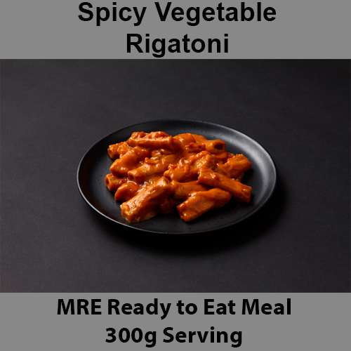 300g Spicy Vegetable Rigatoni MRE Wet Meal