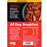 Hot Pack Action Hot Pack Self Heating Meal  ALL DAY BREAKFAST