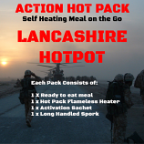 Action Hot Pack Self Heating Meal  LANCASHIRE HOT POT 300g