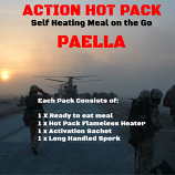 Action Hot Pack Self Heating PAELLA 300g