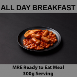 300g All Day Breakfast MRE Wet Meal