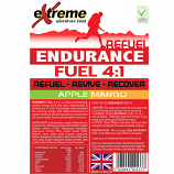 Extreme 4:1 Energy, Endurance, Electrolyte & Protein Recovery drink APPLE & MANGO