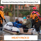 Meaty SELF HEATING Pack D Ready to Eat 24 Hour Big Pack