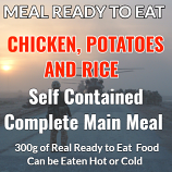 300g Chicken Potatoes and Rice  BB22