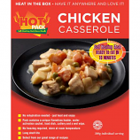 Hot Pack SELF HEATING Meal in a box Chicken Casserole Qty 6