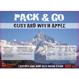 Pack & Go 600 Kcal Custard with Apple