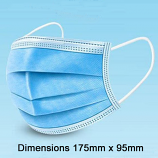 3 Layer Disposable Mask Pack of 10