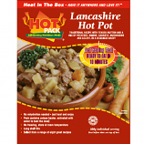 Hot Pack SELF HEATING  Meal in a box Lancashire Hotpot Qty 12
