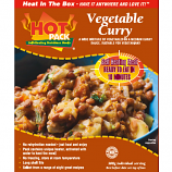 Hot Pack  HOT PACK Self Heating Meal in Box Vegetable Curry (v) qty 12