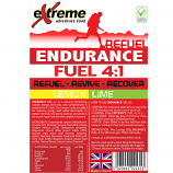 Extreme 4:1 Energy, Endurance, Electrolyte & Protein Recovery drink LEMON & LIME