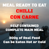 300g Chilli Con Carne & Rice MRE Wet Meal
