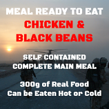 300g Chicken in a Black Bean Sauce MRE Wet Meal