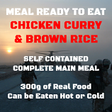 300g Chicken Curry & Brown Rice