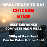 300g Chicken Stew MRE Wet Meal  300g