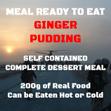200g Ginger Pudding MRE Wet Meal
