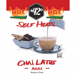 Self Heating Chai Latte Drink   24 Pack