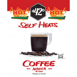 Self Heating Coffee without Sugar Drink 6 Pack