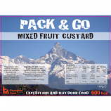 Pack & Go 600 Kcal Mixed Fruit Custard