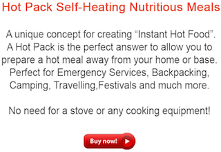 Hot Pack Meals